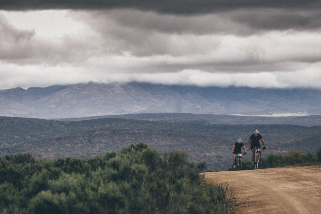 Dirk Oerlemans and Marne Dirks during stage 3 of the 2015 Cape Pioneer Trek between Oudtshoorn and De Rust. http://capepioneer.co.za/ Photo by Ewald Sadie