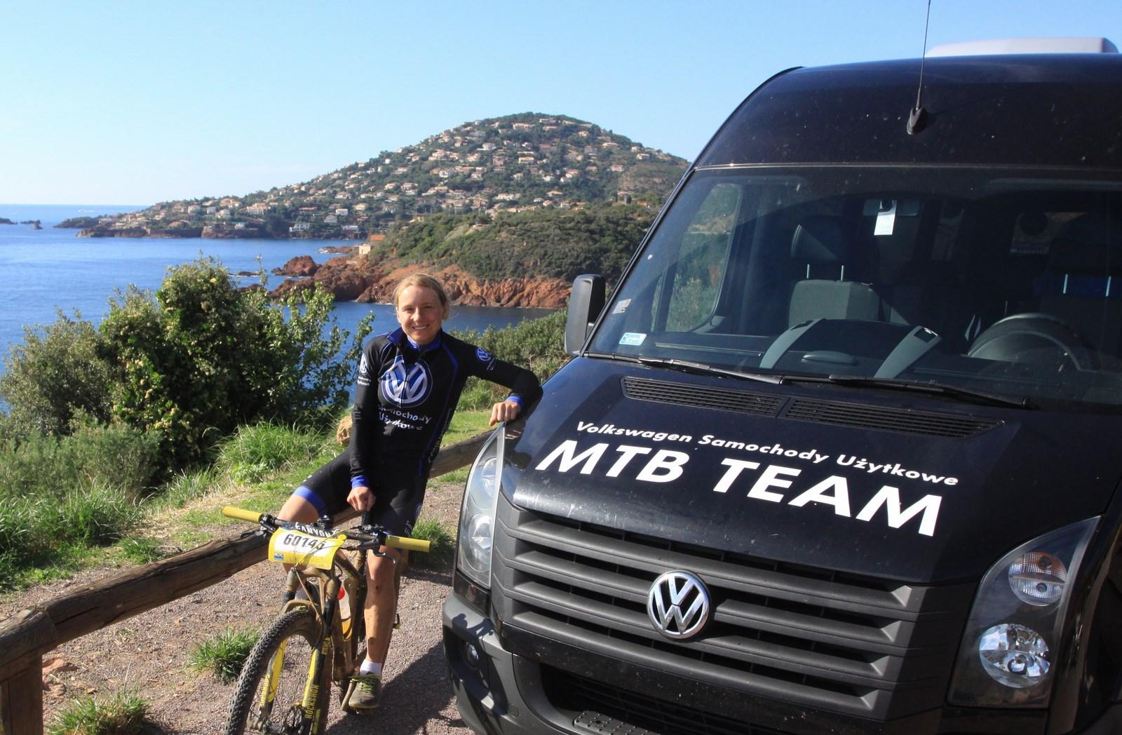 Michalina Ziółkowska (Volkswagen Samochody Użytkowe MTB Team) – Mistrzostwa Świata w Maratonie MTB, Francja