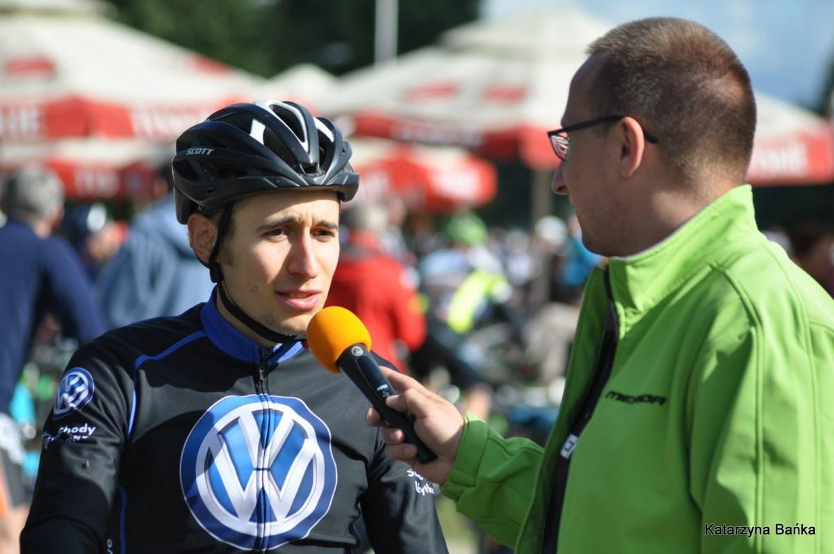 Michał Ficek (Volkswagen Samochody Użytkowe MTB Team) – Gold Hill MTB Maraton by Kellys, Głuchołazy