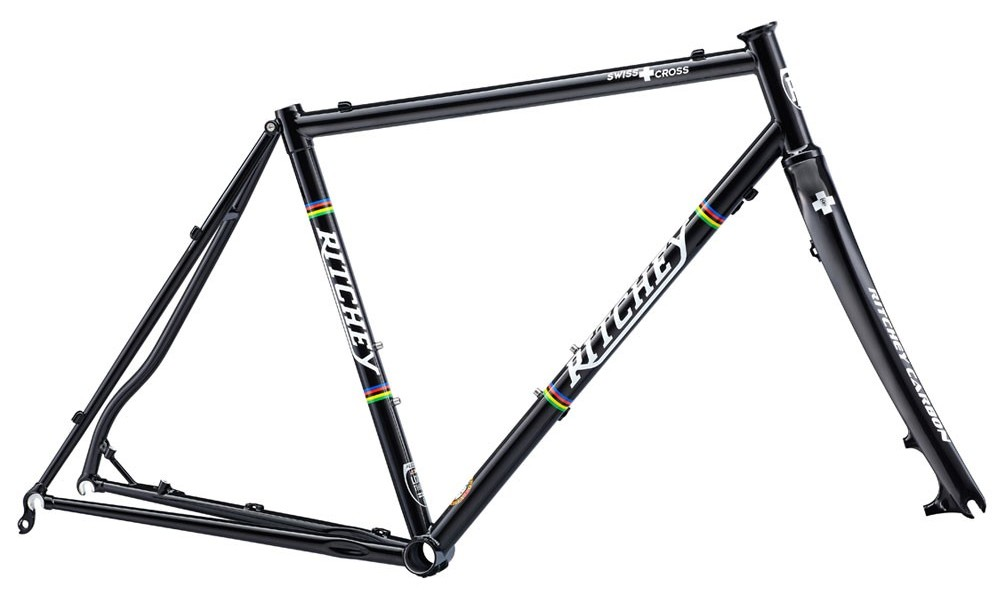 rama przełajowa ritchey swiss-cross-disc-frameset-black