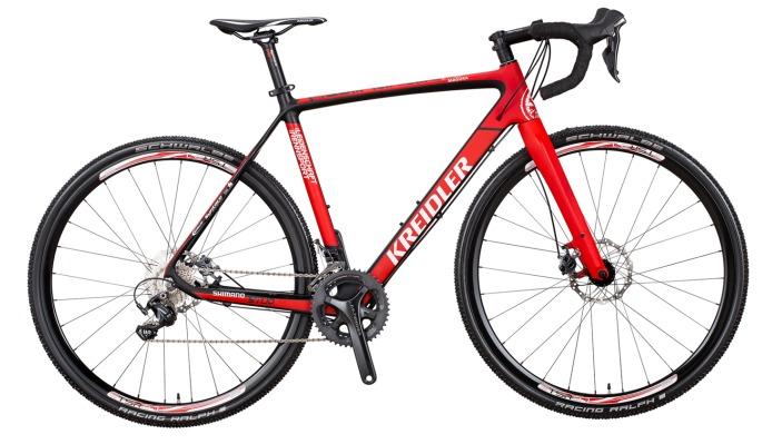 rower przełajowy kreidler cross carbon team edition