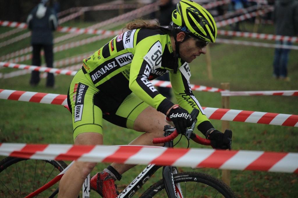 Mirosław Bieniasz KCP Elzat Bieniasz Bike ME CX Masters 2015 2