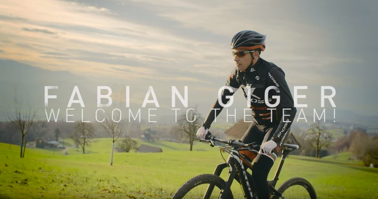 Fabian Giger: Welcome to the Team! [wideo]