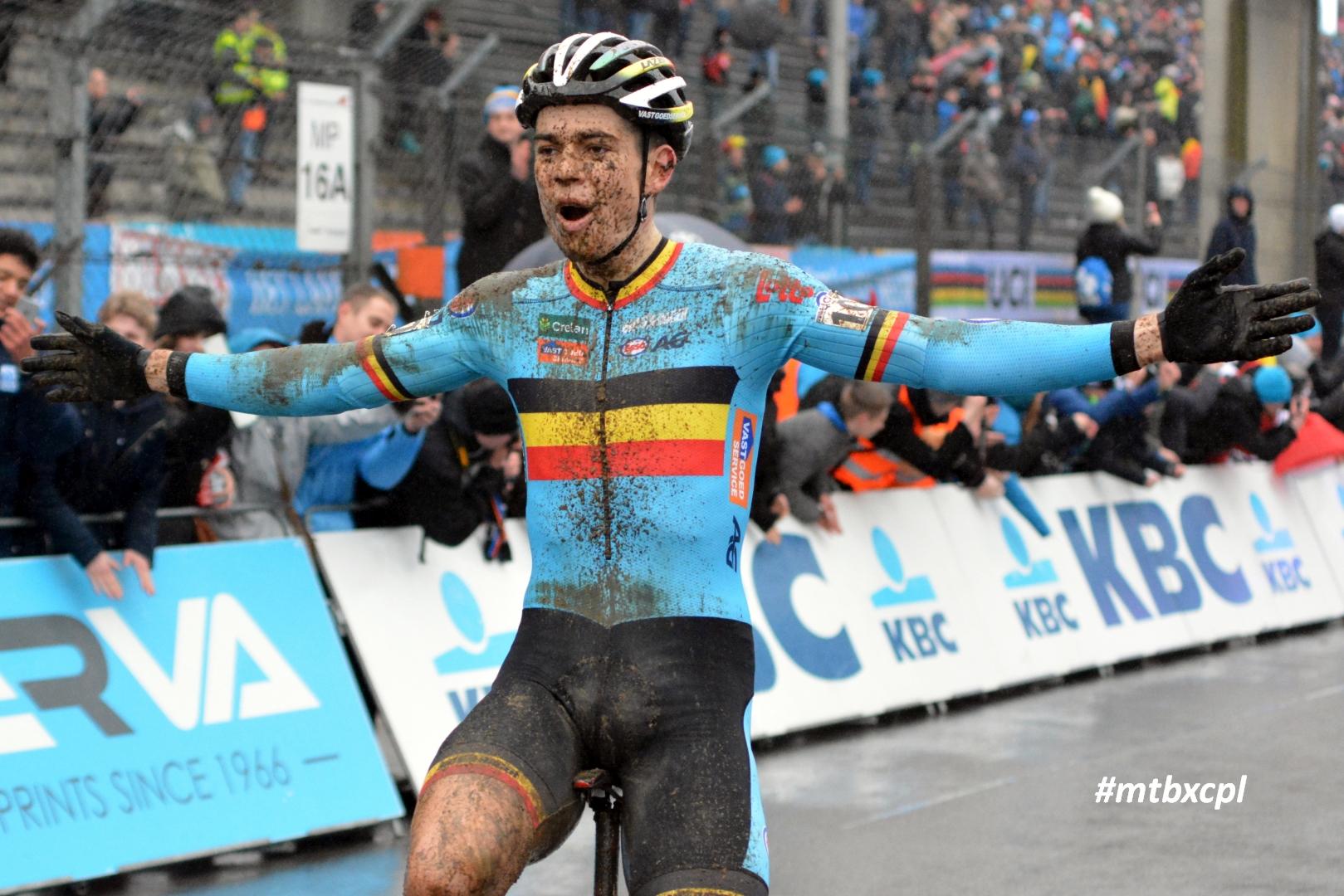 wout van aert worldchampionship cyclocross zolder 2016 2
