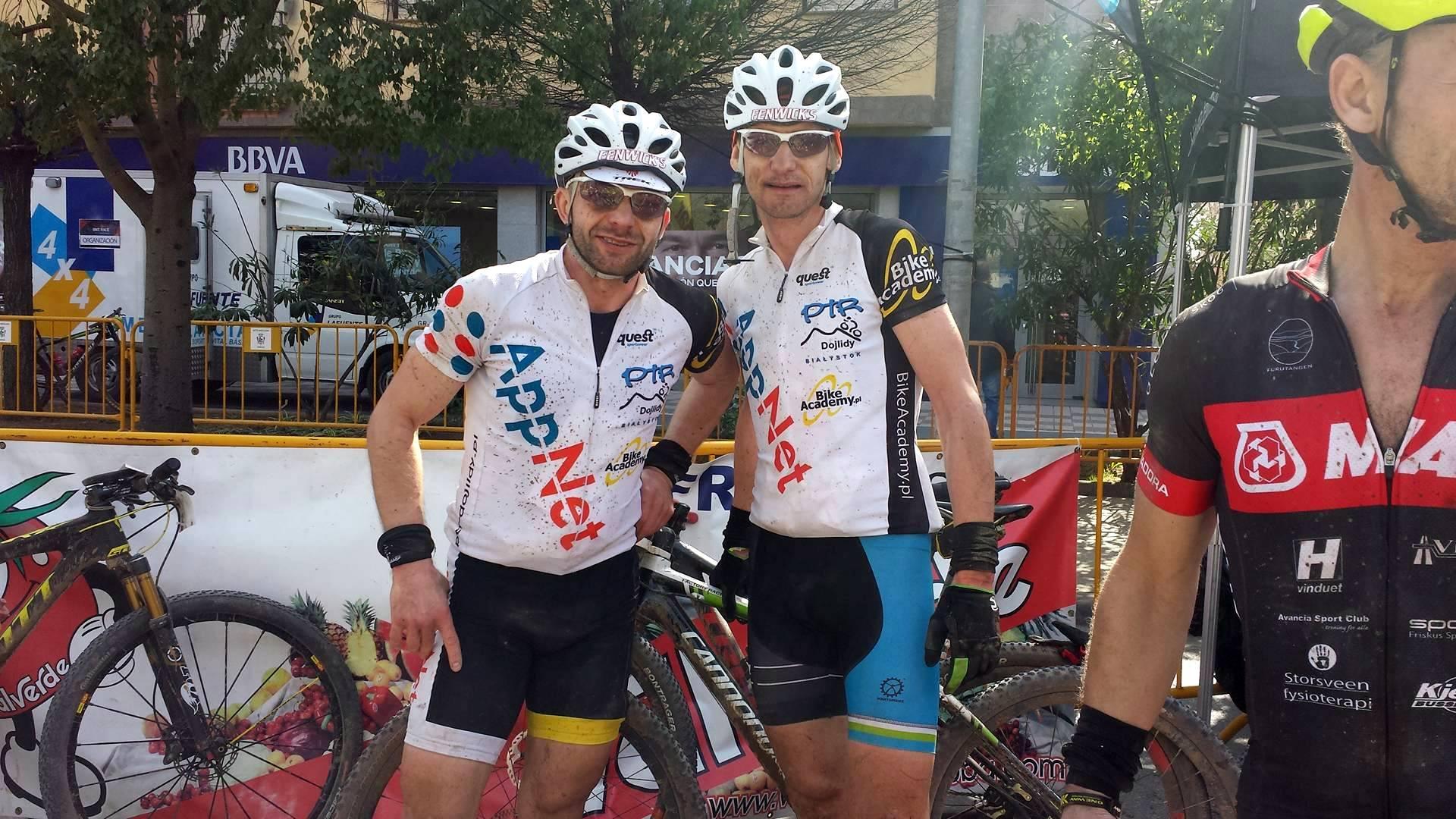 Żeber + Mruwa AKA #mtbxcpl na Andalucia Bike Race #6