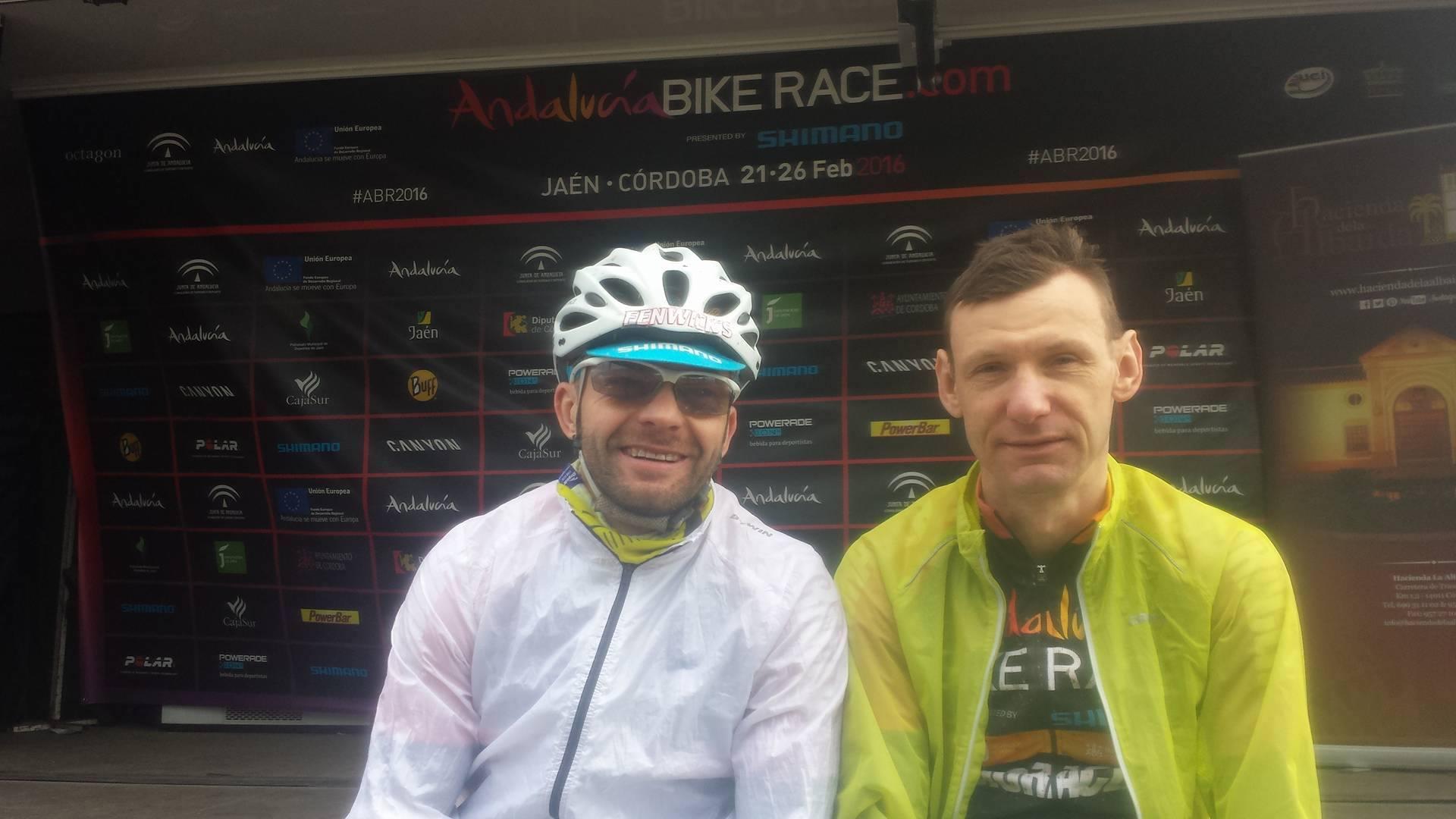 Żeber + Mruwa AKA #mtbxcpl & CRO Finisher na Andalucia Bike Race #4