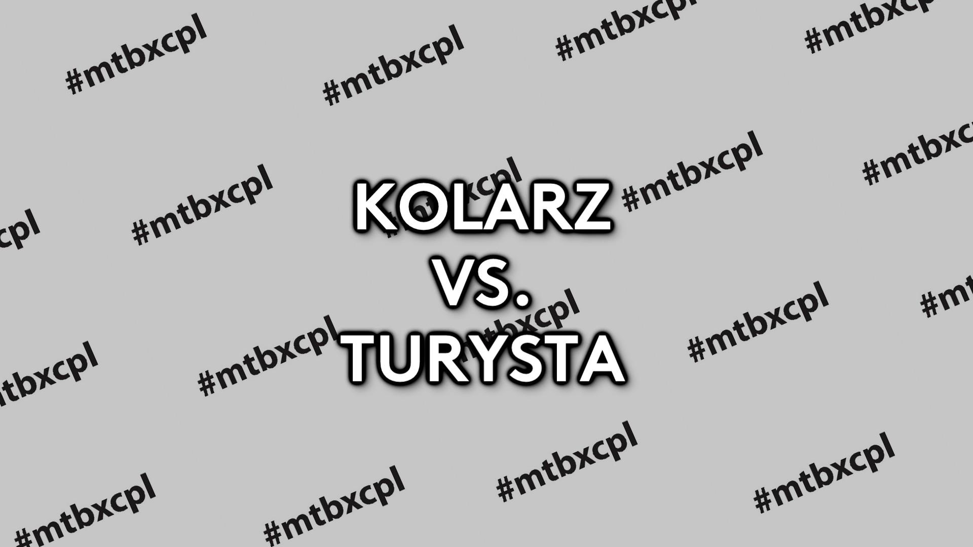 KOLARZ VS. TURYSTA