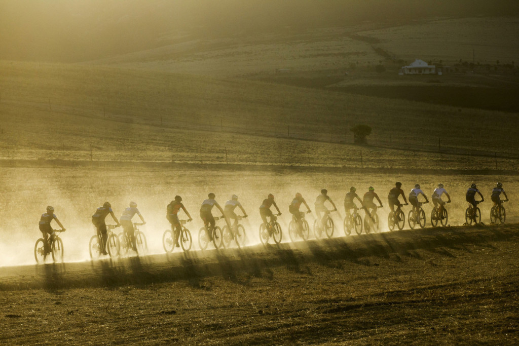 Riders during stage 2 of the 2016 Absa Cape Epic Mountain Bike stage race from Saronsberg Wine Estate in Tulbagh, South Africa on the 15th March 2016Photo by Gary Perkin/Cape Epic/SPORTZPICSPLEASE ENSURE THE APPROPRIATE CREDIT IS GIVEN TO THE PHOTOGRAPHER AND SPORTZPICS ALONG WITH THE ABSA CAPE EPIC{ace2016}