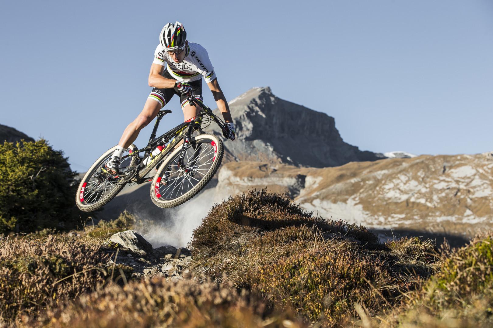 Nino Schurter (Scott Odlo): kolarstwo górskie to najlepszy zawód świata.