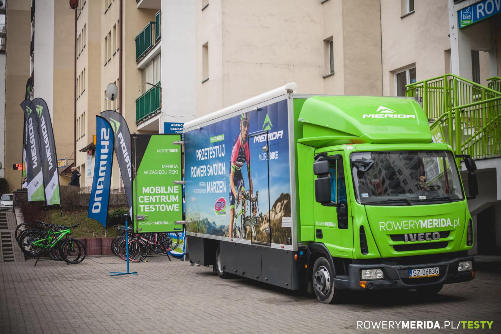 Mobilne centrum testowe merida polska 2016 6