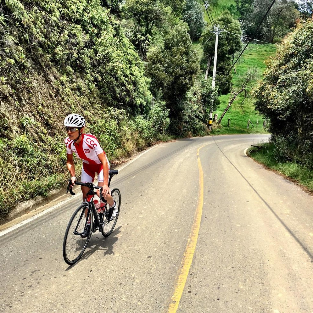 maja wloszczowska kross racing team kolumbia zgrupownie 2016 kross vento