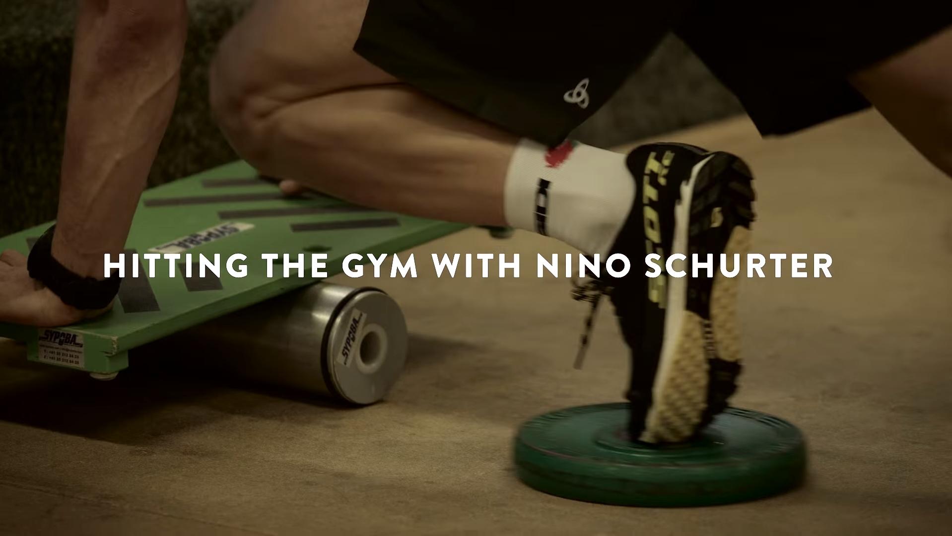 Nino Schurter (Scott Odlo) na siłowni #2