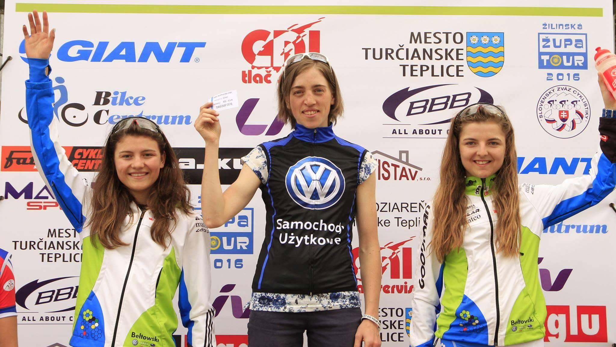Katarzyna Solus Miśkowicz (Volkswagen Samochody Użytkowe MTB Team): Puchar Słowacji XCO