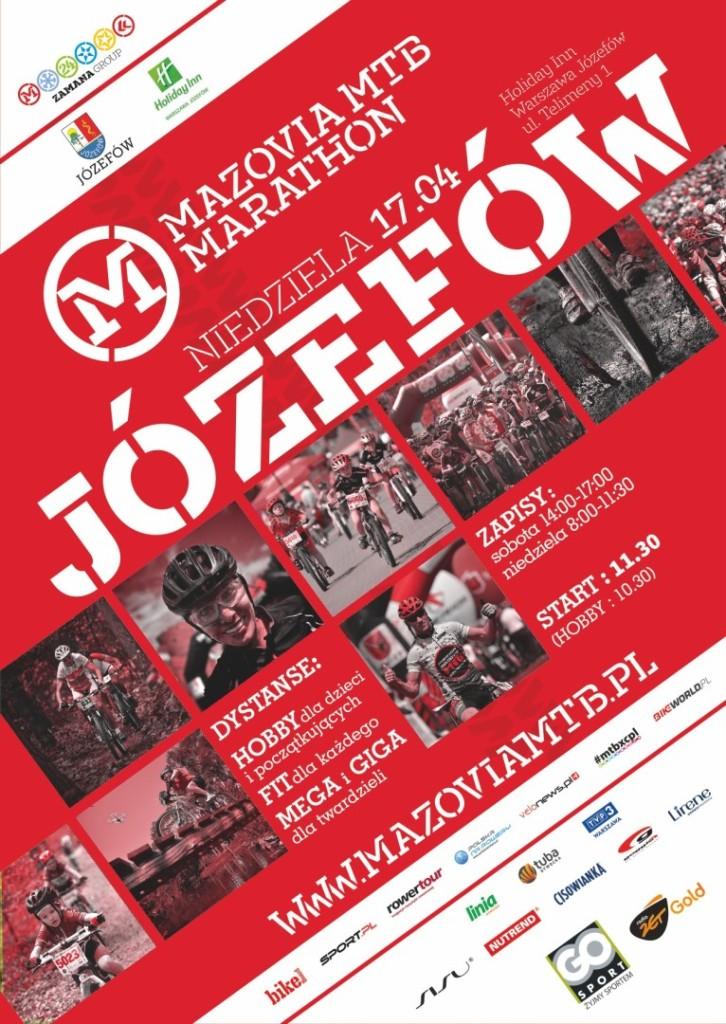 Mazovia mtb 2016 Józefów plakat