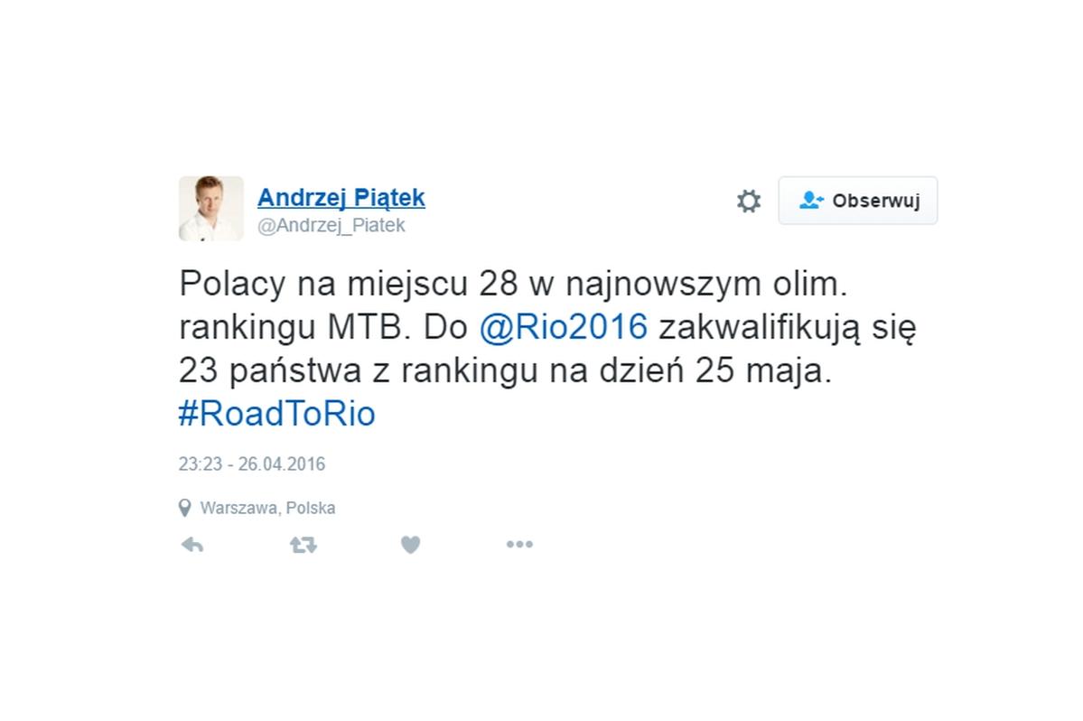 #RoadToRio według PZKol