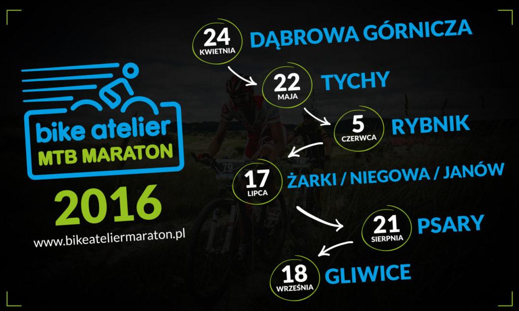 bike atelier maraton 2016 kalendarz
