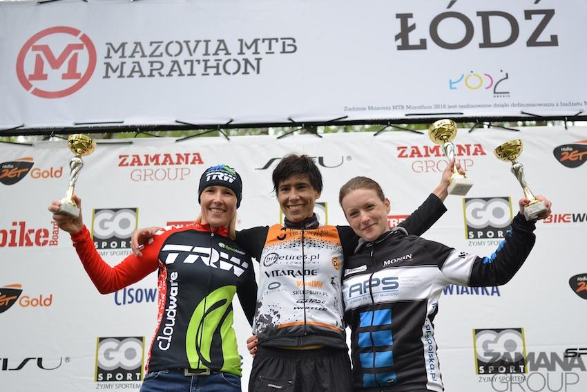 Ula Luboińska (Trezado Biketires.pl) – Mazovia MTB Maraton, Łódź