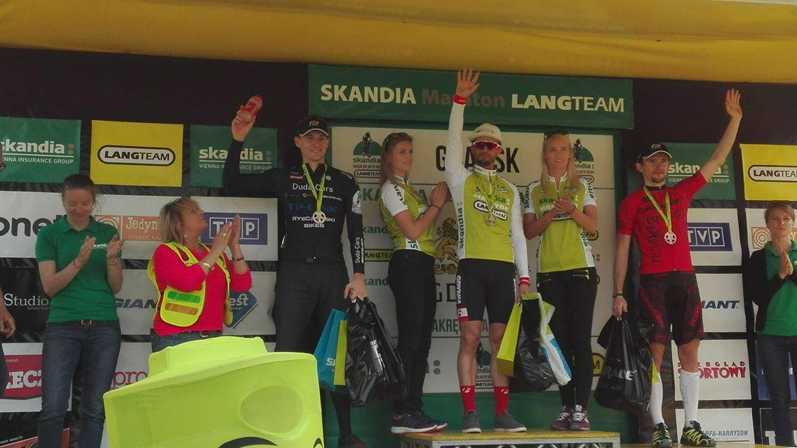 Tomek Repiński (EDF Trek Gdynia) – Skandia Maraton Lang Team, Gdańsk