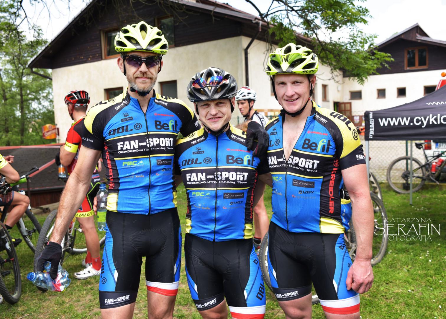 Sukces grupy kolarskiej Kreidler Fan-Sport MTB Racing Team w Opawie