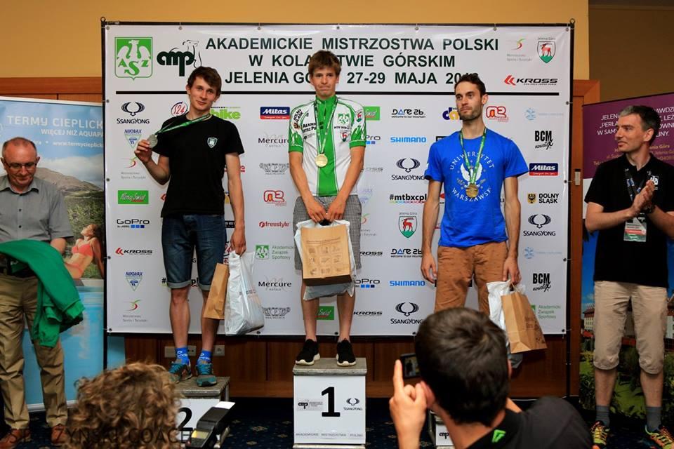 Maciej Jeziorski (Romet MTB Team / AZS AWF Warszawa) – Akademickie Mistrzostwa Polski, Jelenia Góra