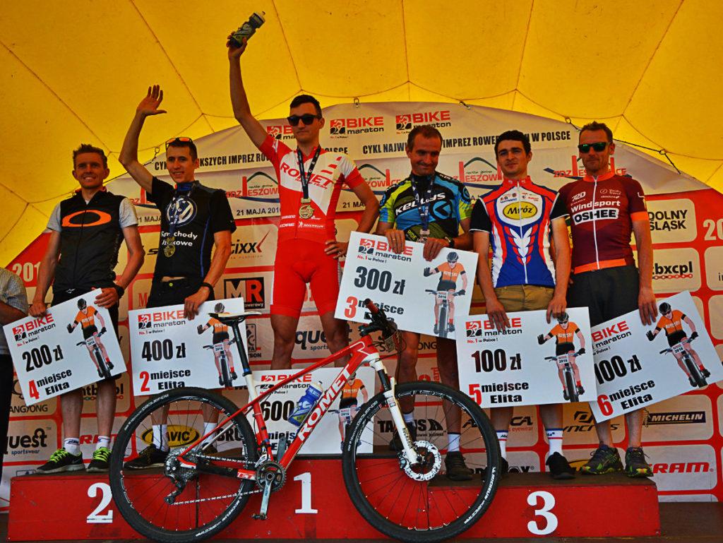 Bartosz Janowski (Romet Racing Team) - Bike Maraton, Zdzieszowice 2016 5