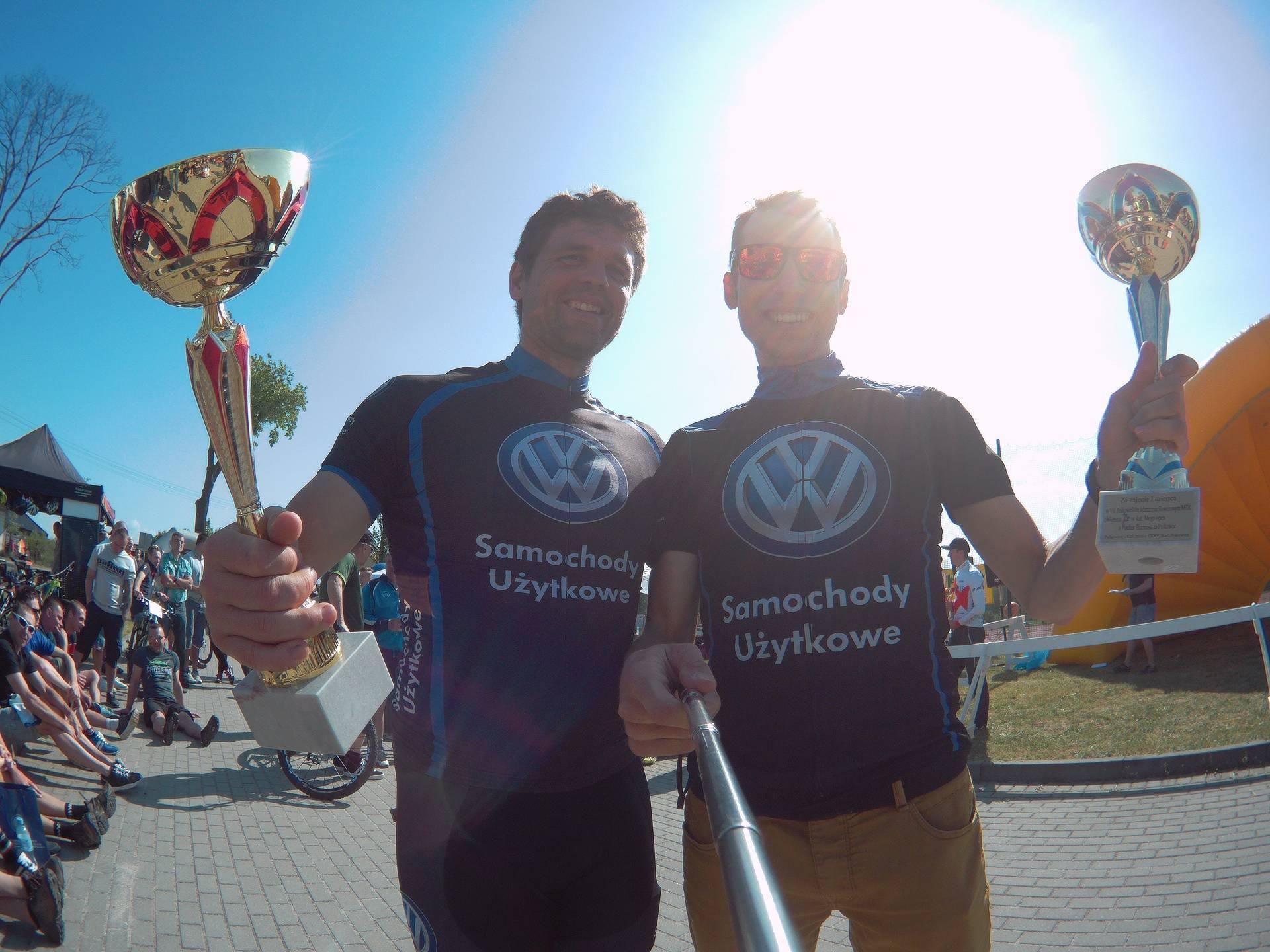 Michał Ficek (Volkswagen Samochody Użytkowe MTB) – VII Polkowicki Maraton MTB, Polkowice