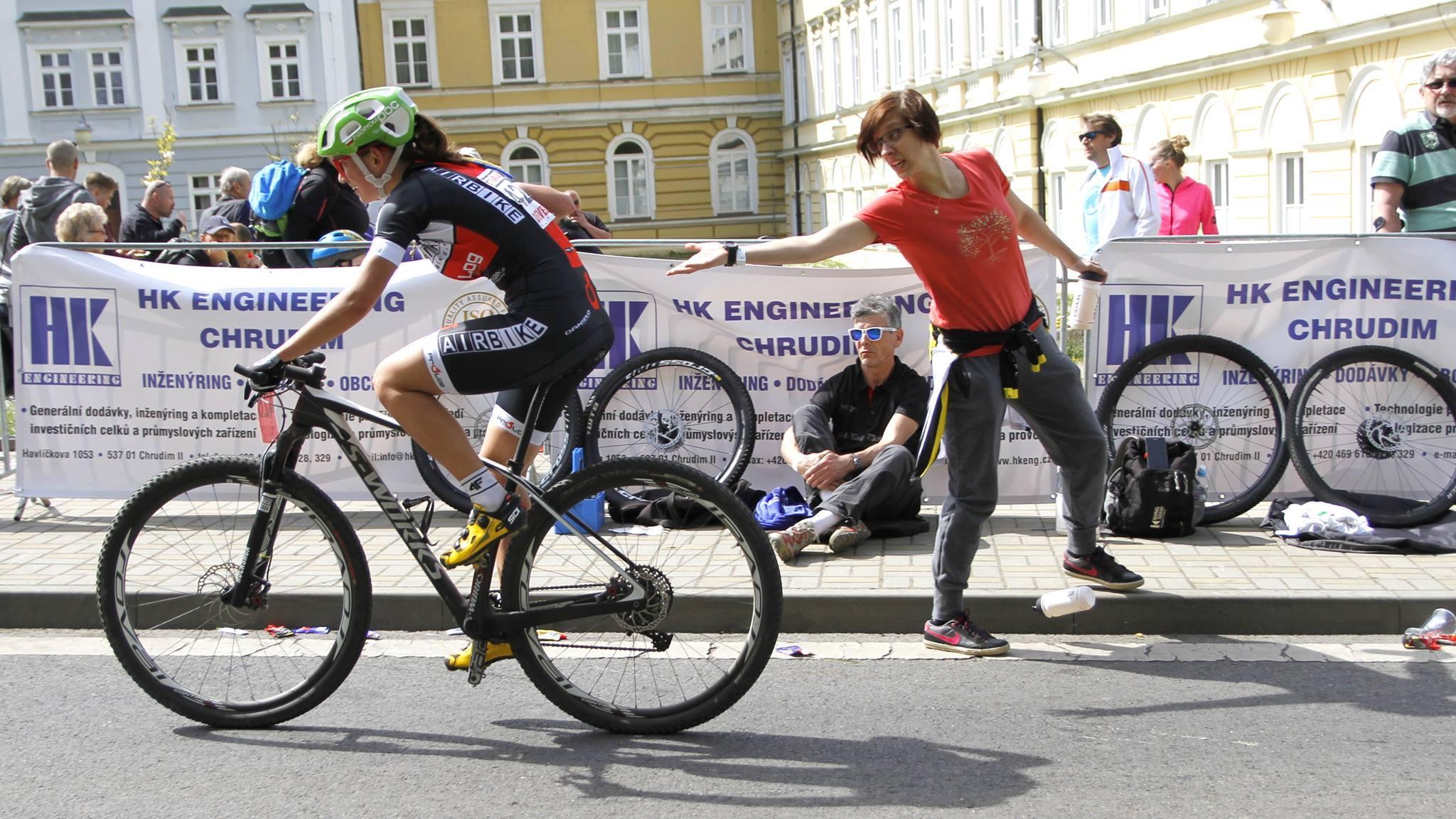 Paula Gorycka (Airbike Prolog Jabłonna) – Puchar Czech, Teplice