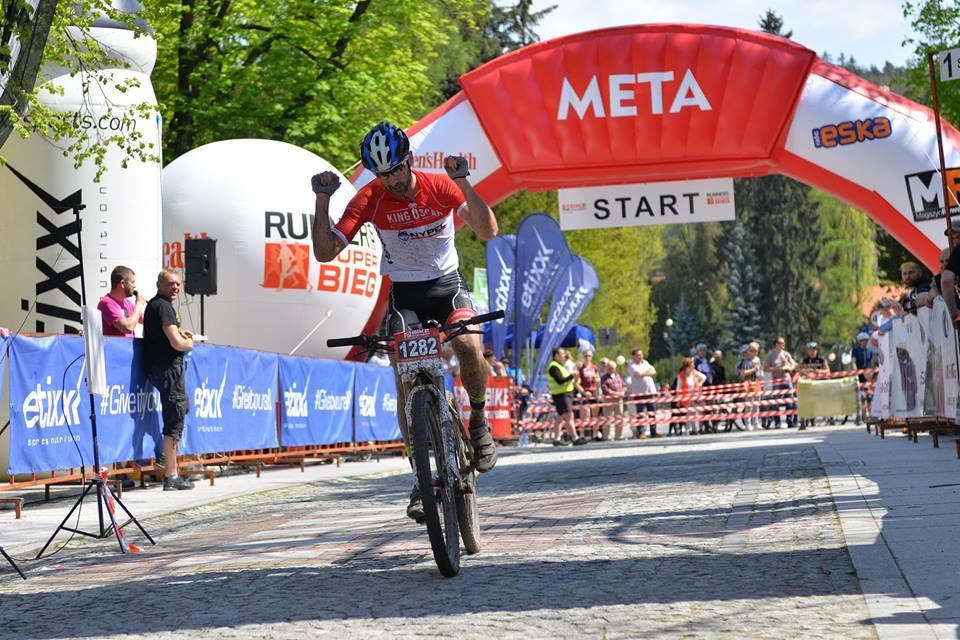 Przemysław Ebertowski (King Oscar Hotel Mistral Sport Gniewino) – Bike Maraton, Polanica
