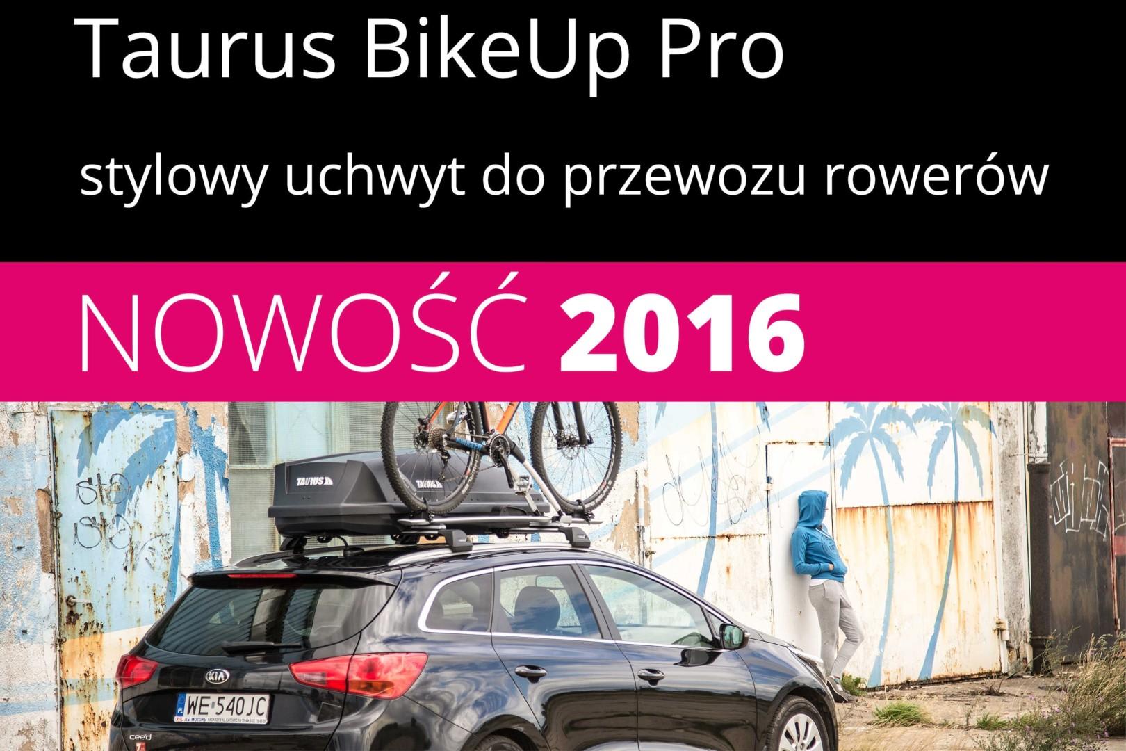 Taurus BikeUp Pro – nowy bagażnik rowerowy