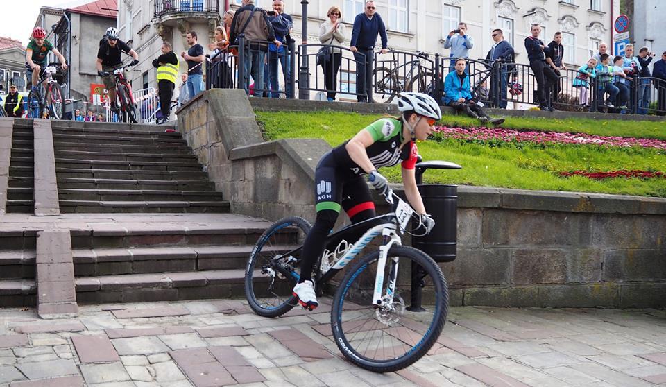 Karolina Kukuła (AGH Cycling Team) – Eliminator MTB, Przemyśl