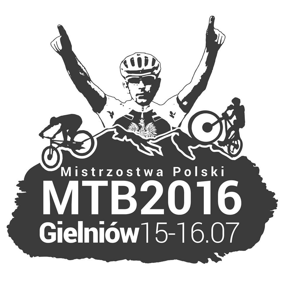mistrzostwa polski w kolarstwie górskim 2016 gielniów logo