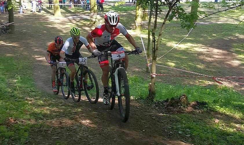 Patrycja Świerczyńska i Kornel Osicki (OK Racing) – Puchar Polski XCO, Biała