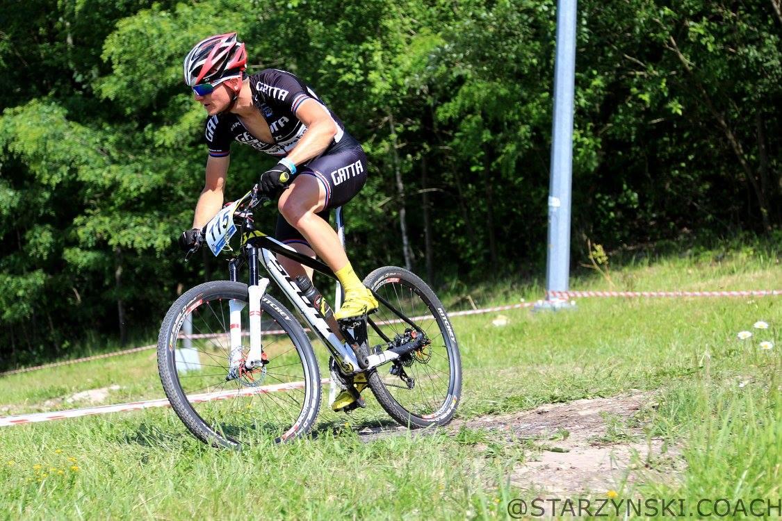Łukasz Matusiak (Gatta Bike Team) – Puchar Mazowsza XCO, Bełchatów