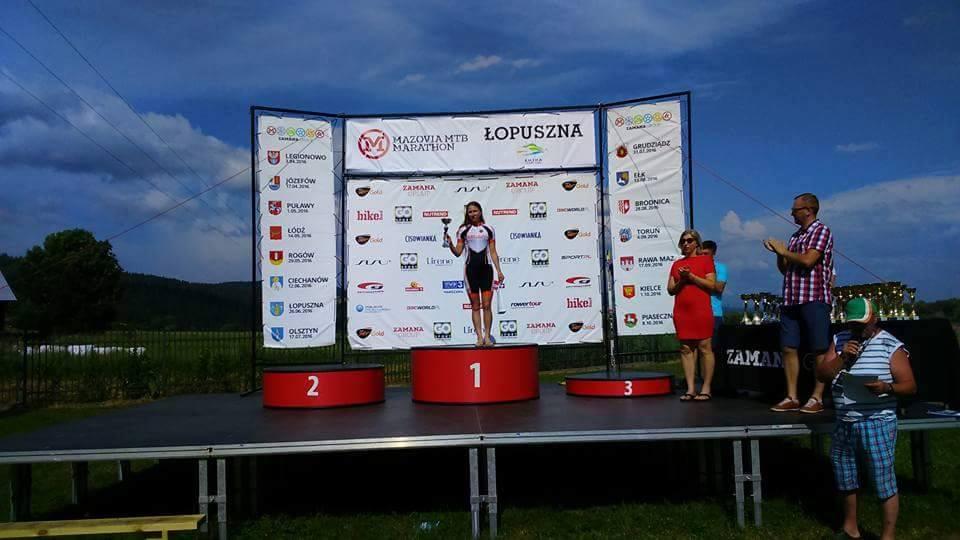 Karolina Cierluk (Mitutoyo AZS Wratislavia) – PP XCM, Mazovia MTB Marathon, Łopuszna