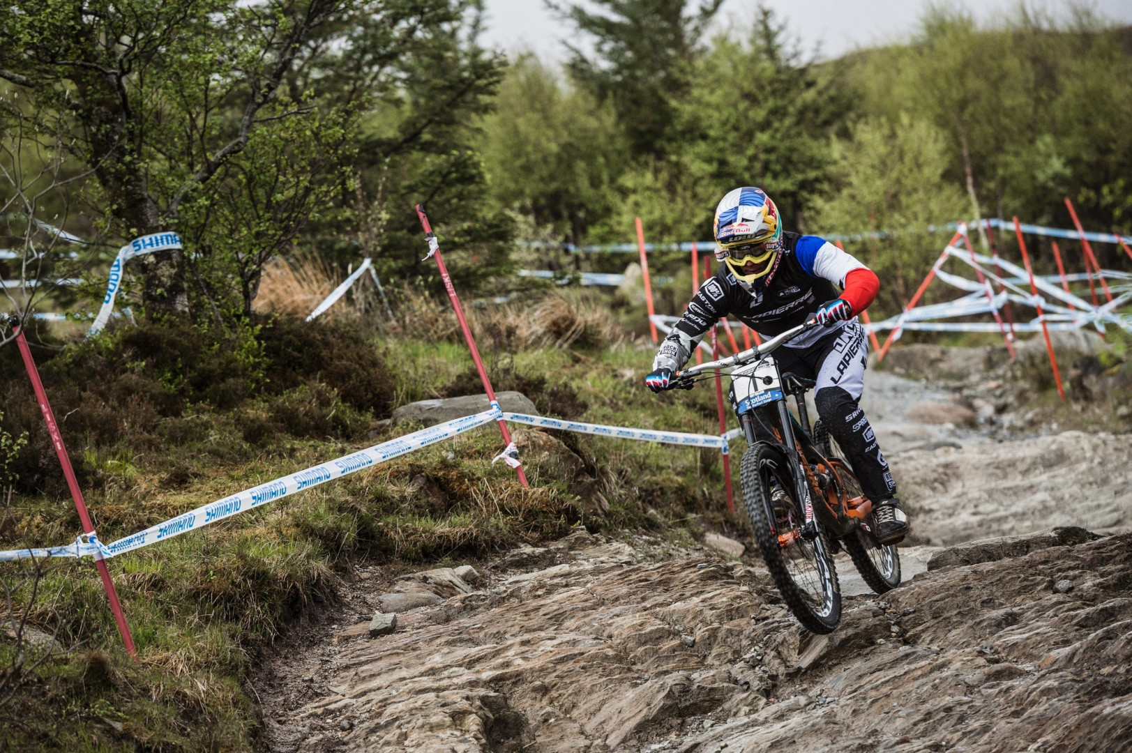 Loic Bruni UCI Fort William 2015 Red Bull Content Pool