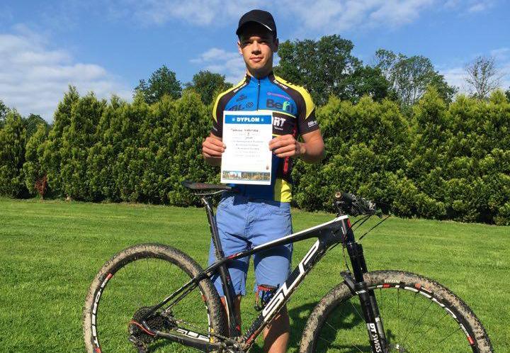 Mateusz Nieboras (Kreidler Fans-Sport MTB Racing Team) – Puchar Polski XCO, Tuchów