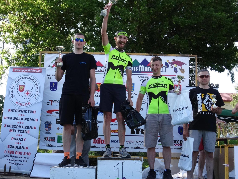 Piotr Truszczyński (Komobike Scott) – MTB Cross Maraton, Piekoszów