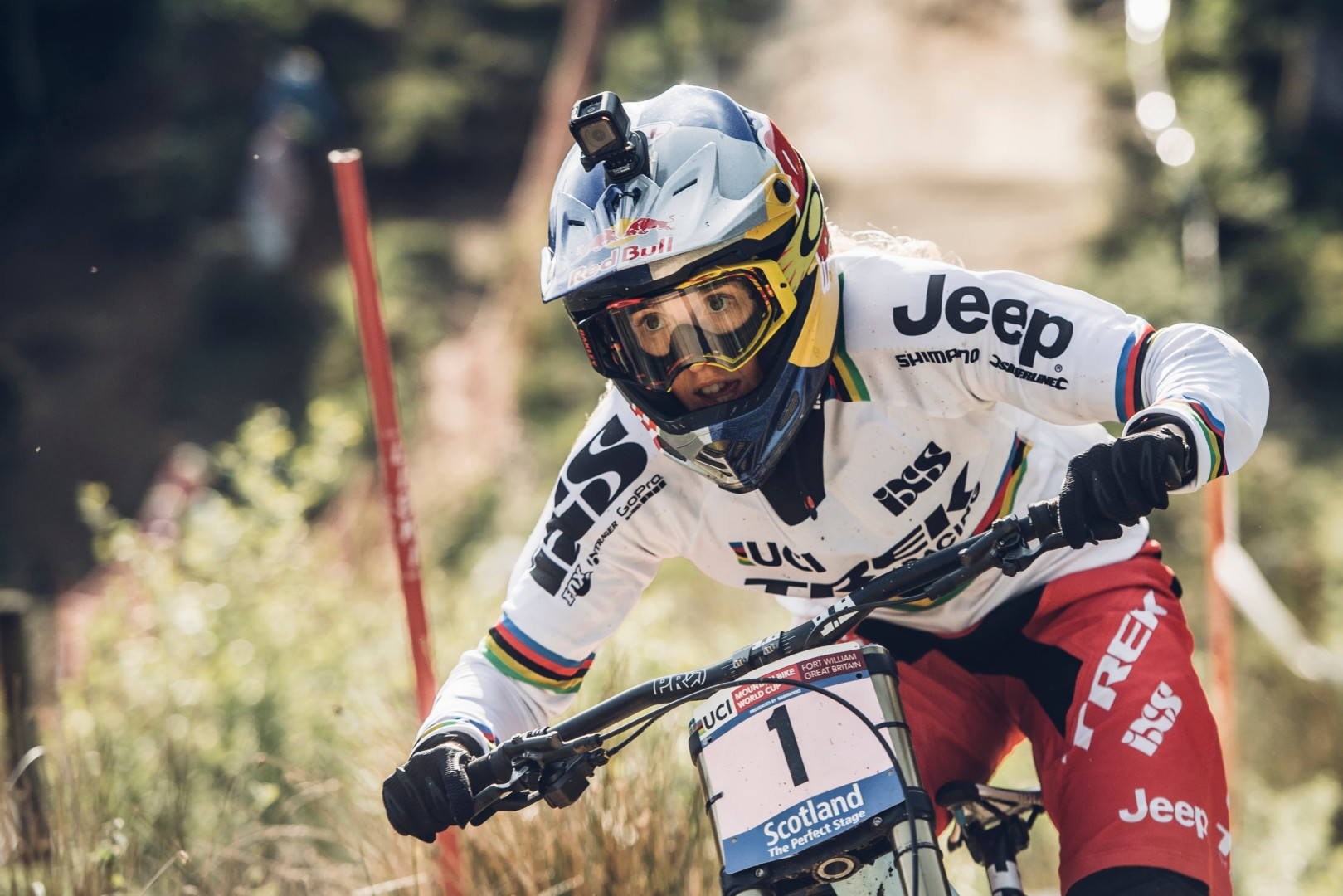 Rachel Atherton UCI Fort William 2016 fot Bartek WolinskiRed Bull Content Pool