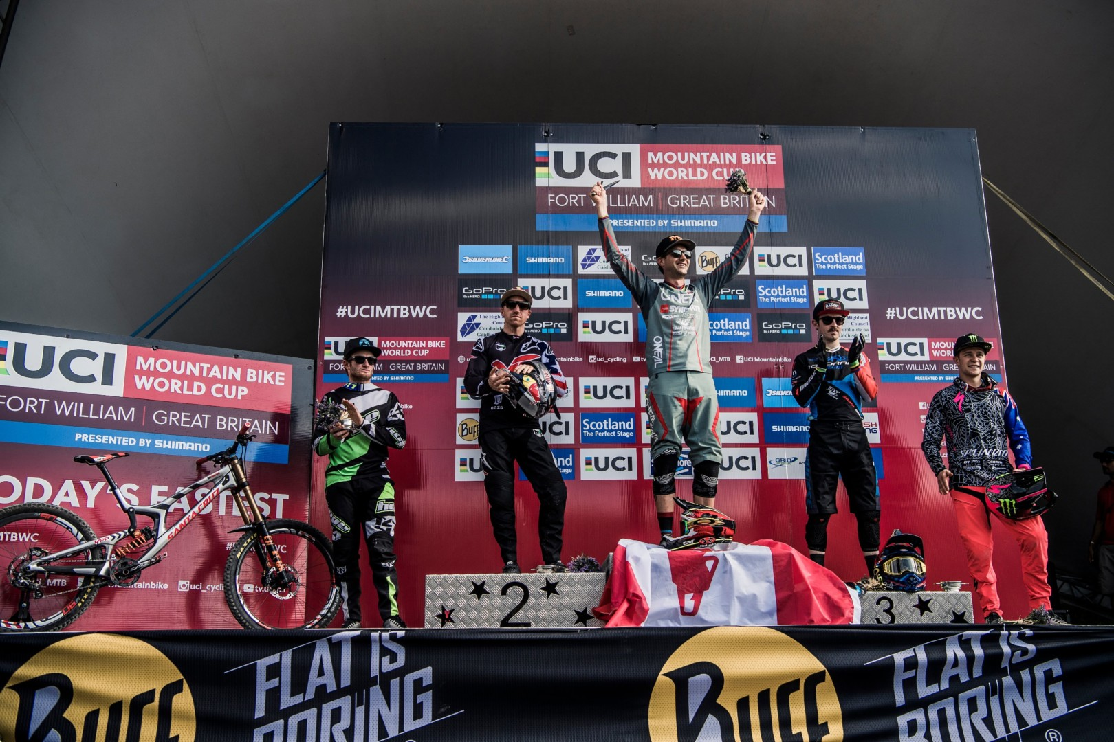 Winners UCI Fort William 2016 fot Bartek WolinskiRed Bull Content Pool