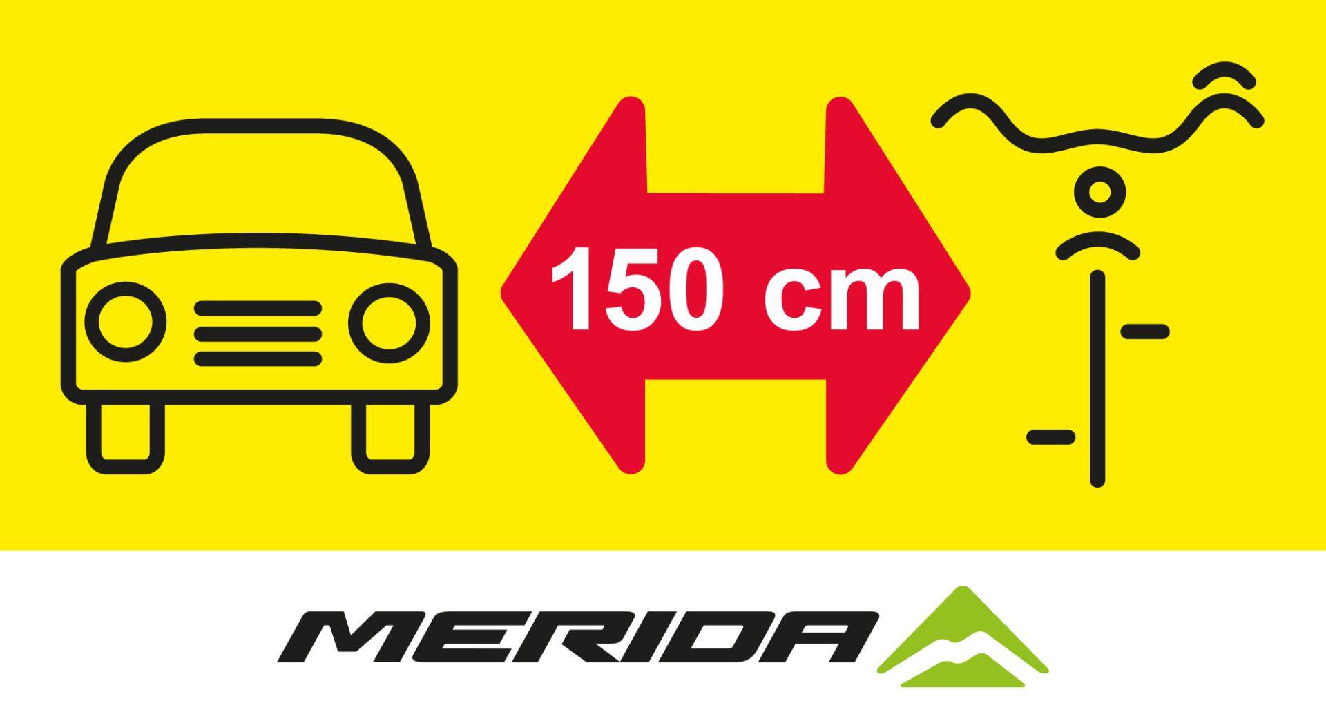 """Merida wspiera """"150 cm dla rowerzysty"""""""