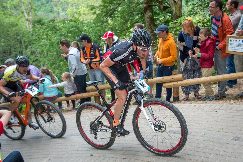 Paweł Kowalkowski (Kross Centrum Rowerowe Olsztyn) – Mistrzostwa Europy XCM – Sigulda