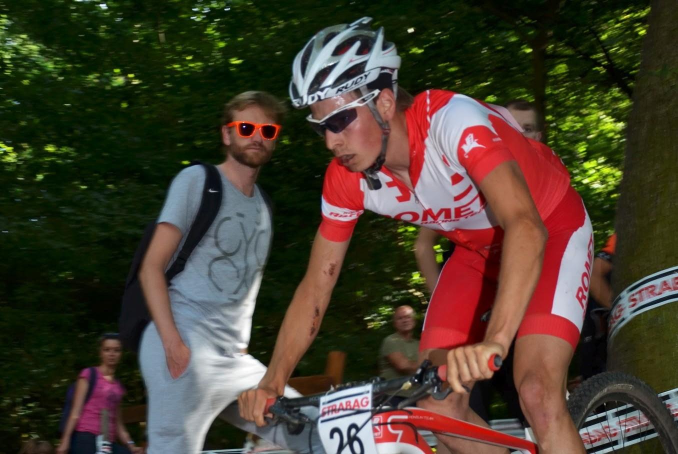Maciej Jeziorski (Romet MTB Team) – Puchar Czech XCO, Brno
