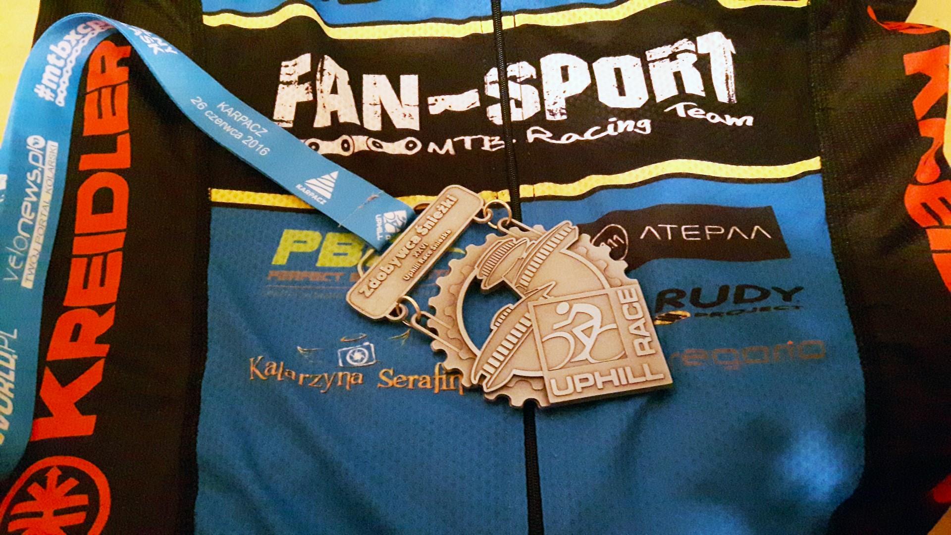 Krzysztof Grudzień (Kreidler Fan-Sport MTB Racing Team) – Uphill Race Śnieżka, Karpacz