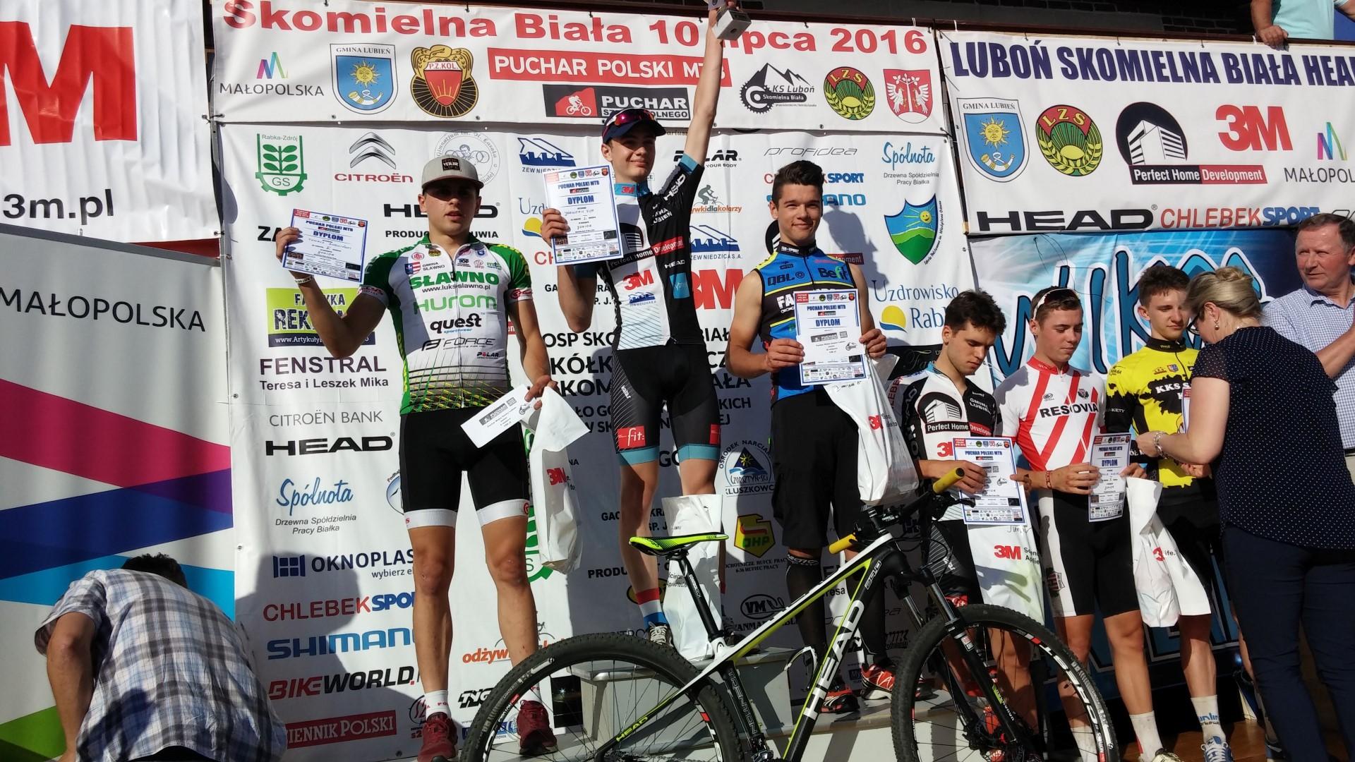 Mateusz Nieboras (Kreidler FAN-SPORT MTB Racing Team) – Puchar Polski XCO, Skomielna Biała