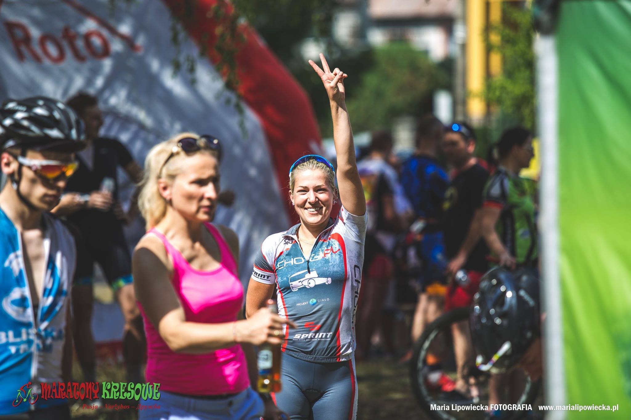 Anna Dymczyk (Chogi.pl) – Maratony Kresowe, Niemenczyn