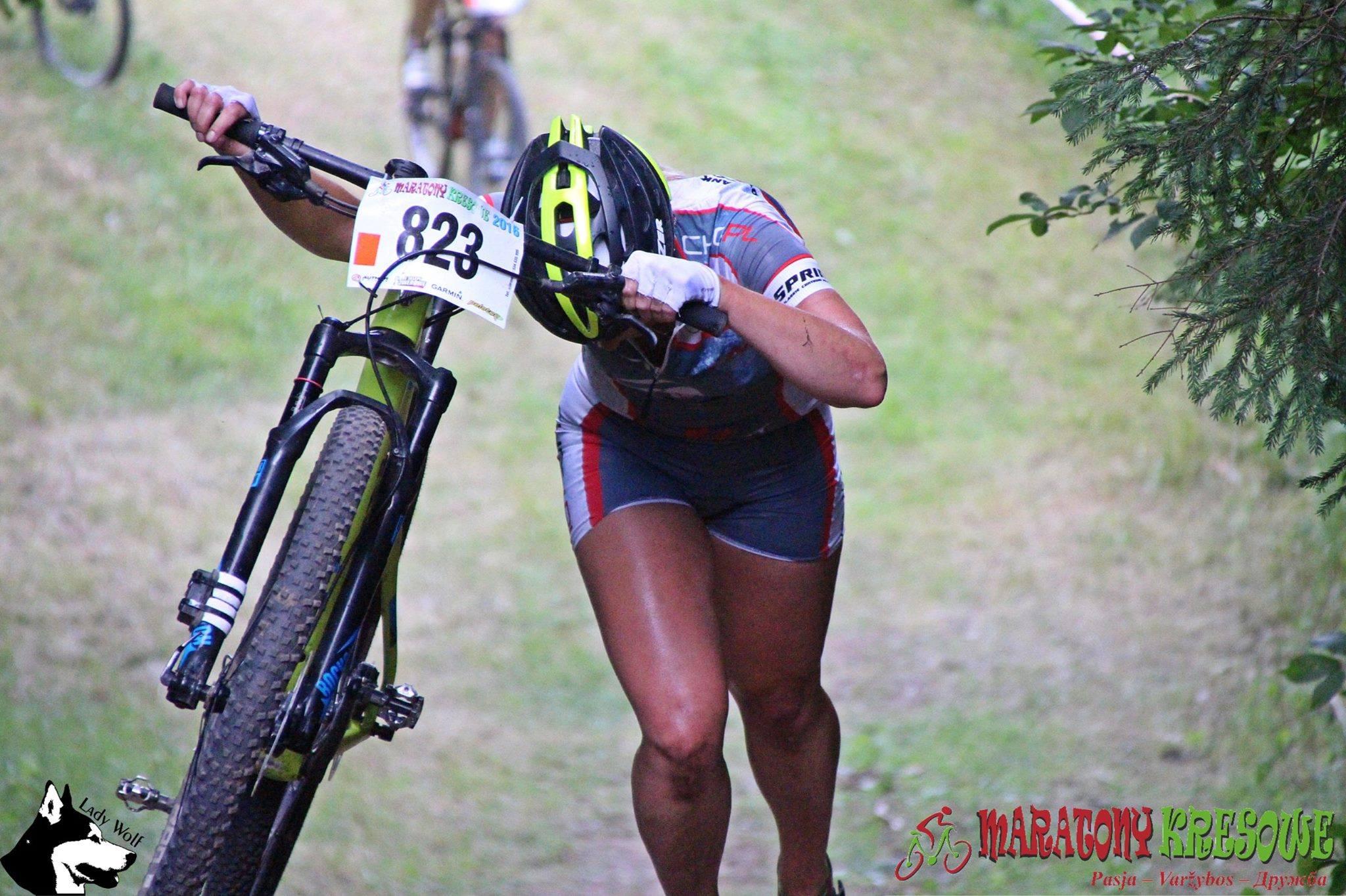 Anna Dymczyk (Chogi.pl) - Maratony Kresowe, Niemenczyn 3