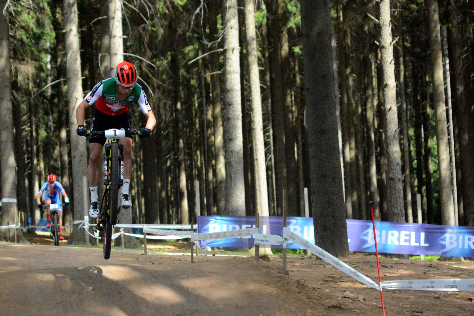 Nino Schurter (Scott Racing) – Mistrzostwa Świata XCO, Nove Mesto, Czechy