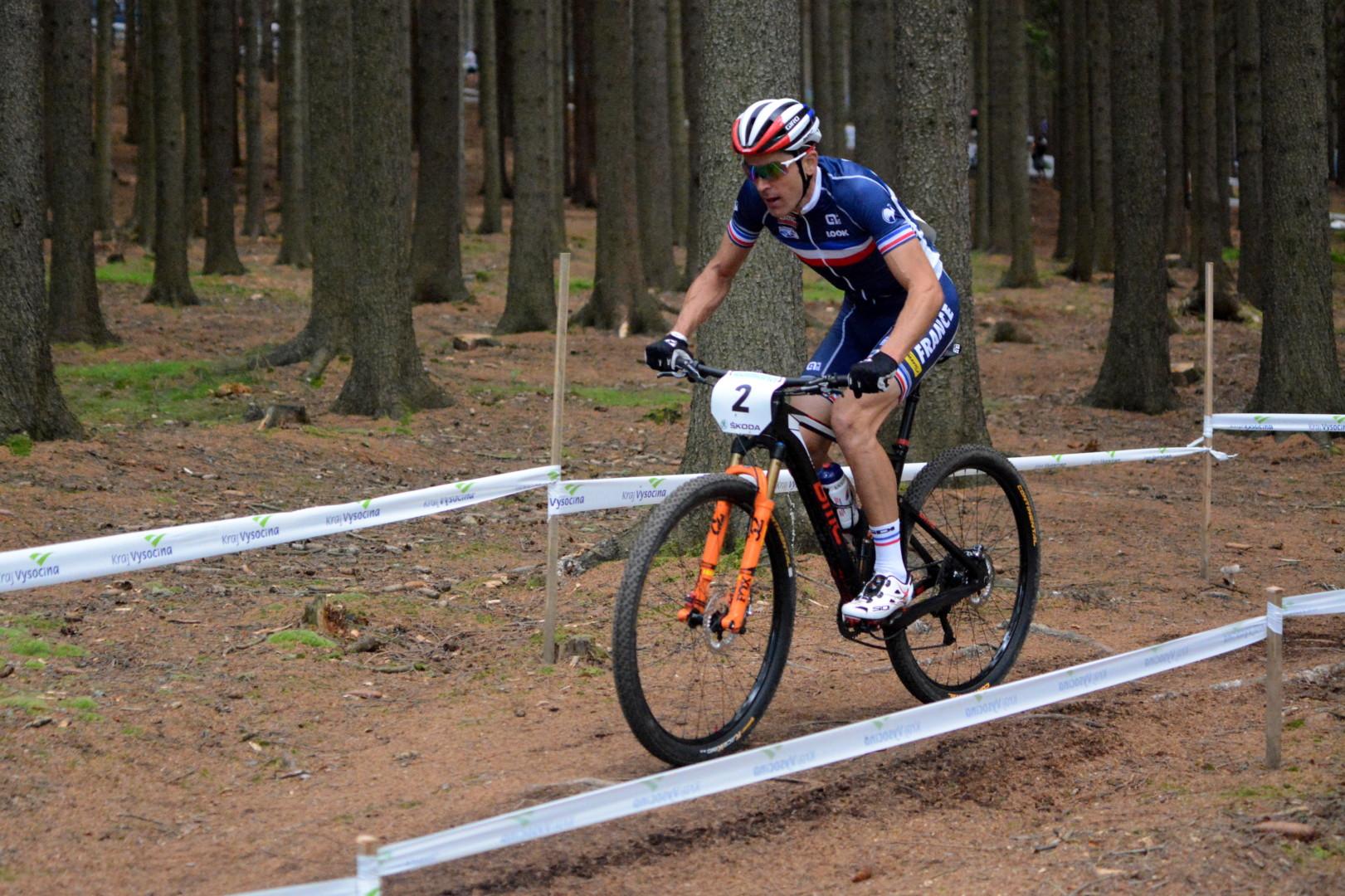 Julien Absalon (BMC MTB Racing Team) – Mistrzostwa Świata XCO, Nove Mesto, Czechy