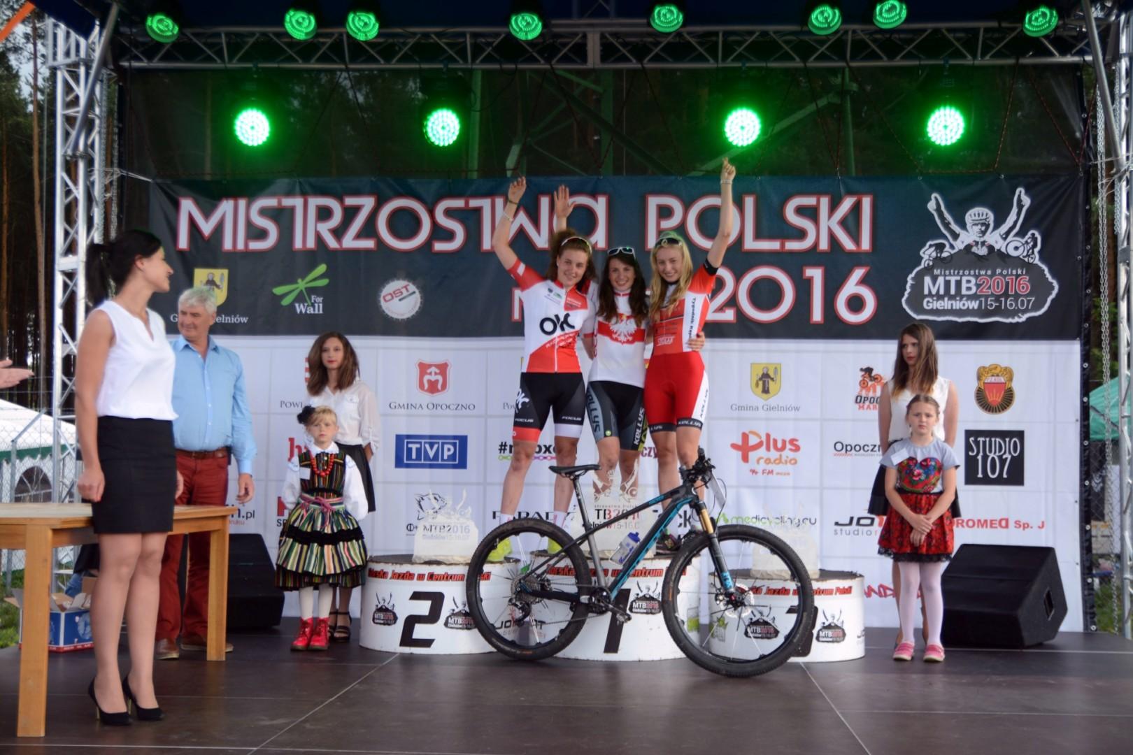 Maja Drelak (UKS Sport Bralin) – Mistrzostwa Polski XCO, Gielniów