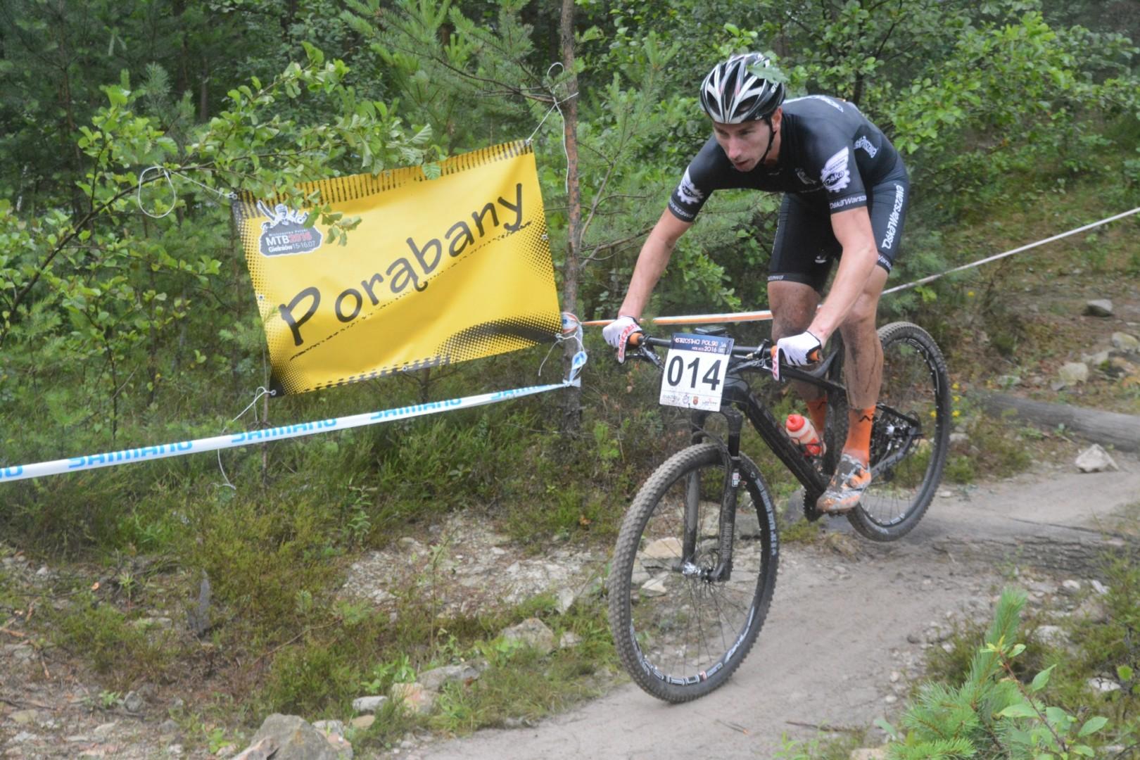 Radosław Rękawek (Ośka Warszawa) – Mistrzostwa Polski XCO, Gielniów